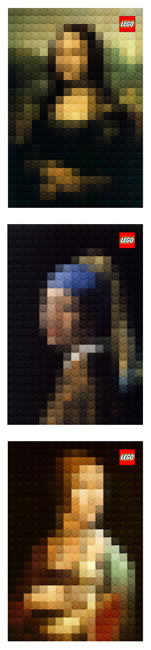 LEGO art by Marco Sodano