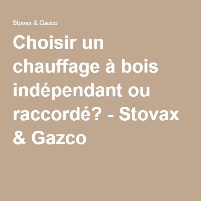 Choisir un chauffage à bois indépendant ou raccordé? - Stovax & Gazco