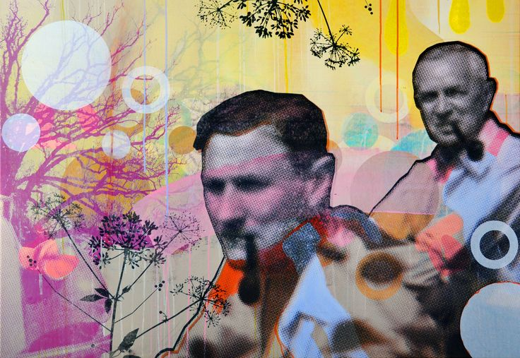 Title: So what? We just went for a ride nr. 3 // Size: 130 x 200 cm