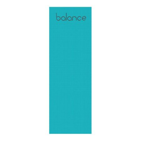 Balance Yoga Mat Turquoise/Red - tap, personalize, buy right now!