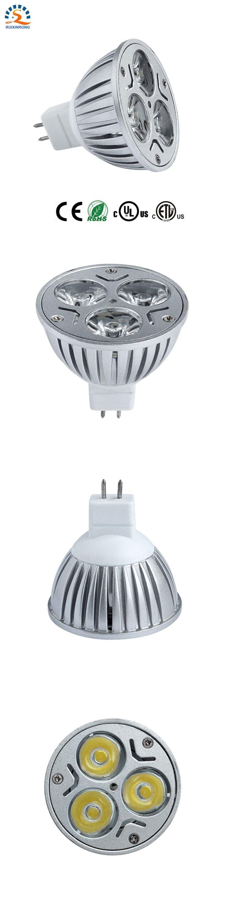 1pcs 3x3w 9w LED MR16 spotlight ampoule LED bulb lamp light 12V DC