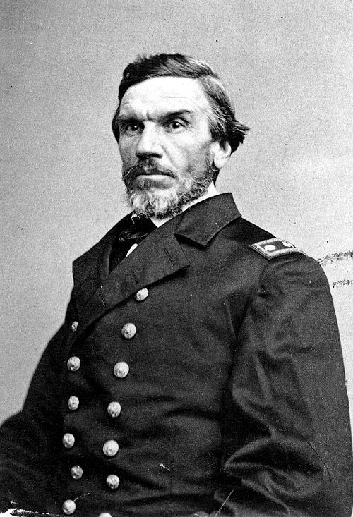 Rear Admiral Napoleon Collins (1814-1875). A regular U.S. Navy officer that served in Mexico. In the civil war he led several gunboats and commanded the sloop USS Wachusett when it captured the CSS Florida in 1864. This sparked a diplomatic crisis as it had been in the Brazilian harbor of Bahia and therefore illegal. He was court-martialled and sentenced to be dismissed but the sentence wasn´t carried out. He became a Captain in 1866 and died while commanding the South Pacific Squadron in…