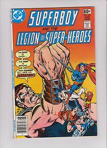 dc rare Comic Book Covers | DC-Superboy-240-Legion-Origin-Dawnstar-Bondage-Cover-KEY-RARE-Comic ...