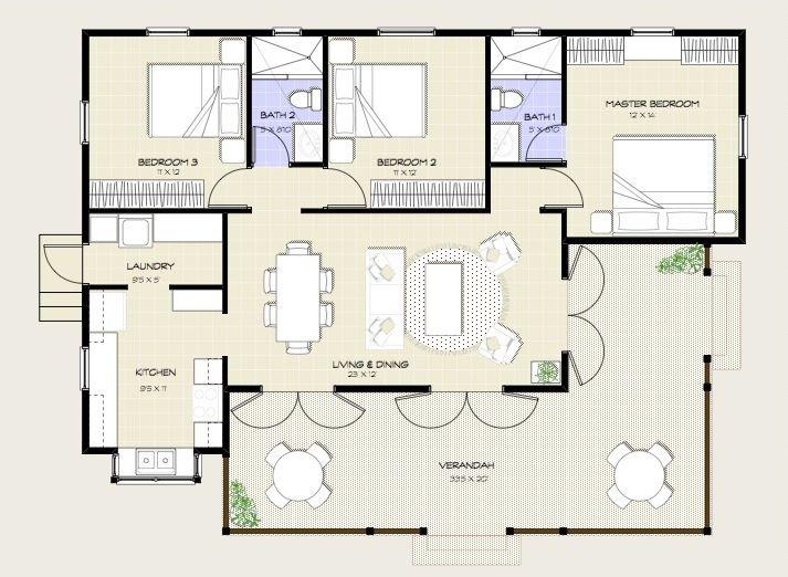 28 best Plans images on Pinterest | Architecture, Diamond and Dreams | tile | home design 5 bedrooms