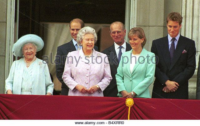 2000--Queen Mother's 100th Birthday, Friday August 5, 2000
