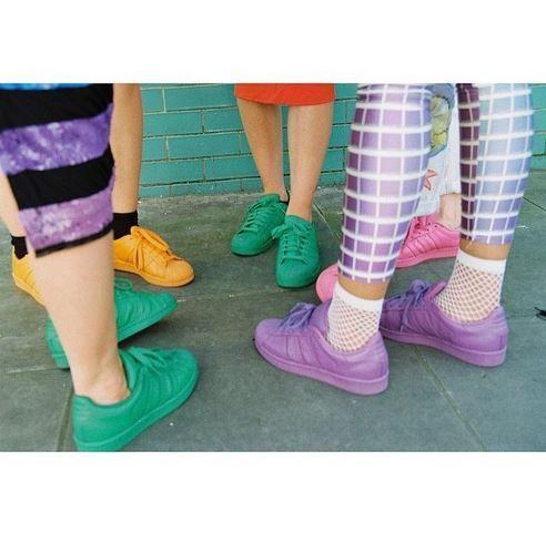 Adidas Supercolor styling inspo c/o @confetticrowd
