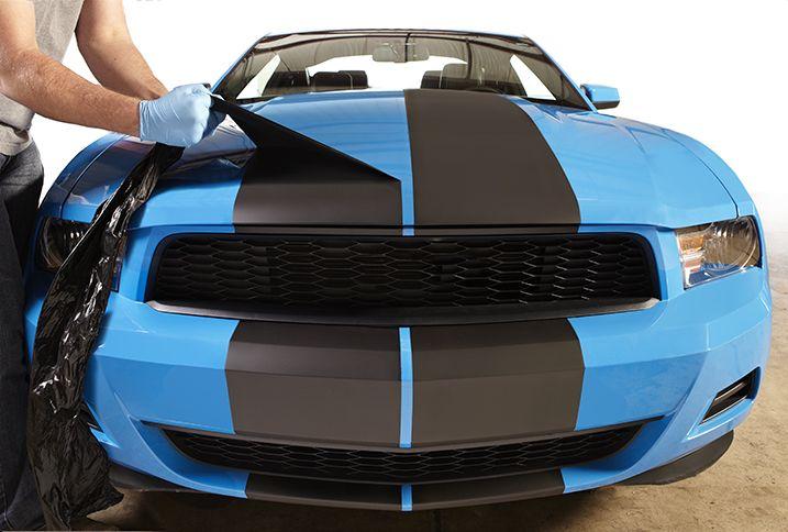 Paint It. Peel It. Paint It Again with Rust-Oleum FlexiDip.  My van just earned stripes...