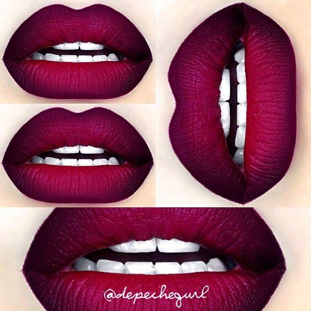 "MAC RiRi ❤'s Collection -""Talk That Talk"" Lipstick (LE), ""Heaux"" Lipstick (LE), and ""Talk That Talk"" Pro Longwear Lipliner (LE). I also used Currant Lipliner. #Padgram"