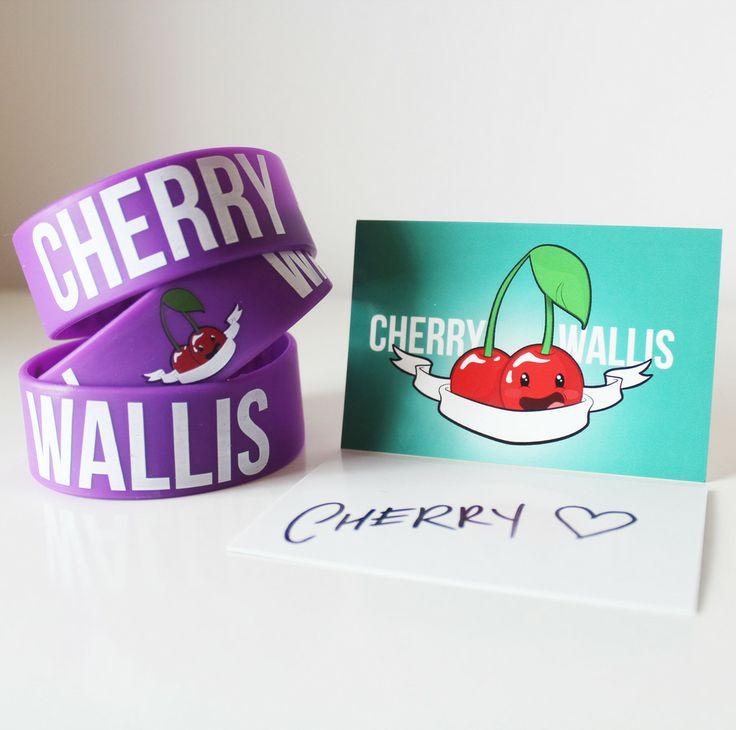 Cherry Wallis Wristband