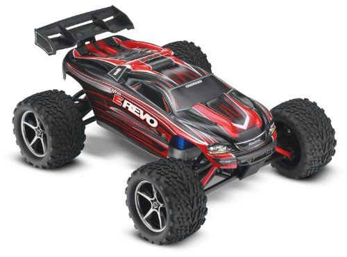 Traxxas 71054 E Revo Electric Monster Truck, 1:16 Scale (color may vary)