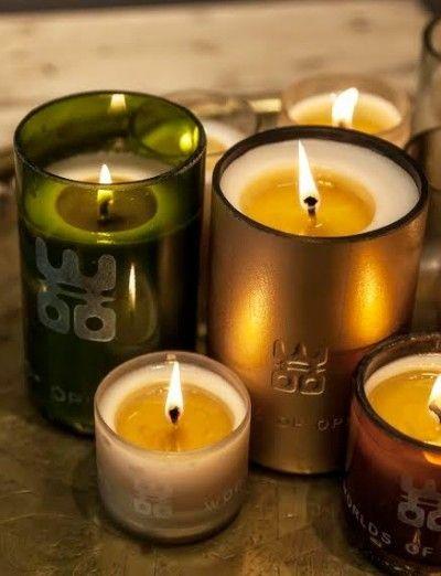 Handgemaakte kaarsen