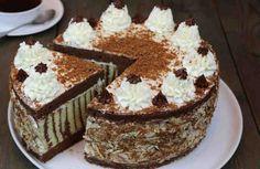 """Торт """"Мелодия"""". Вкусно и красиво. Приготовьте его — и все будут в восторге!"""