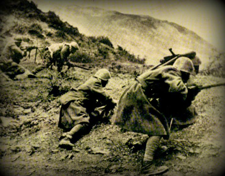 Oct 28-Nov 13, 1940. Battle of Pindus. Greek Army halts the Italian advance & counter attacks, pushing them back into Albania