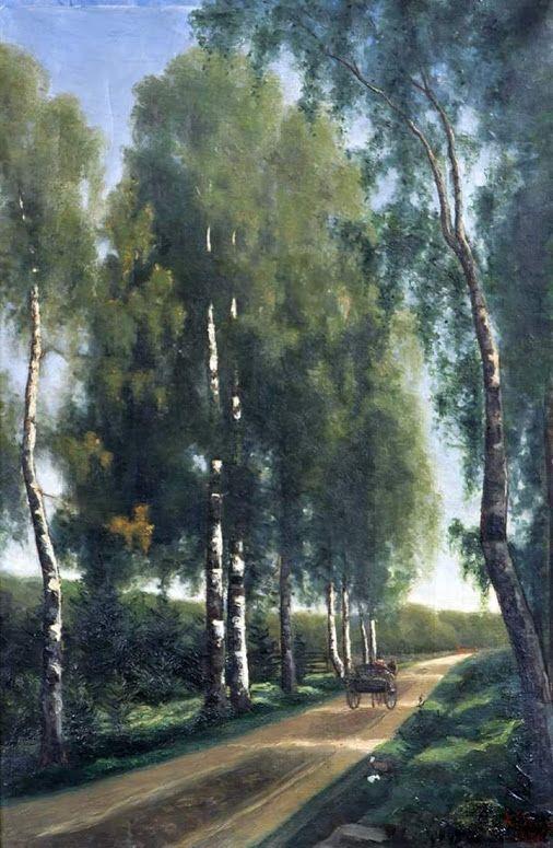 Finnish painter ~Ada Maria Thilen