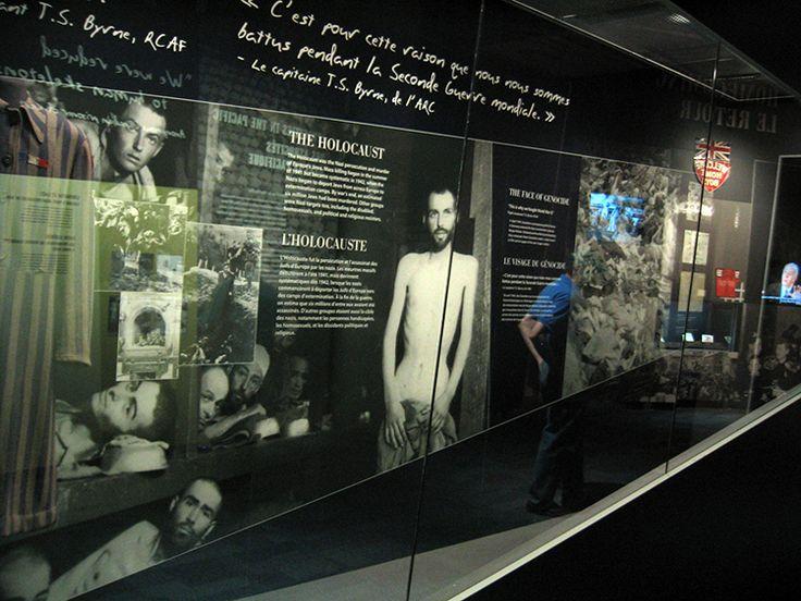The Holocaust, Permanent Exhibition, Canadian War Museum, Exhibit Design by: Origin Studios Inc.