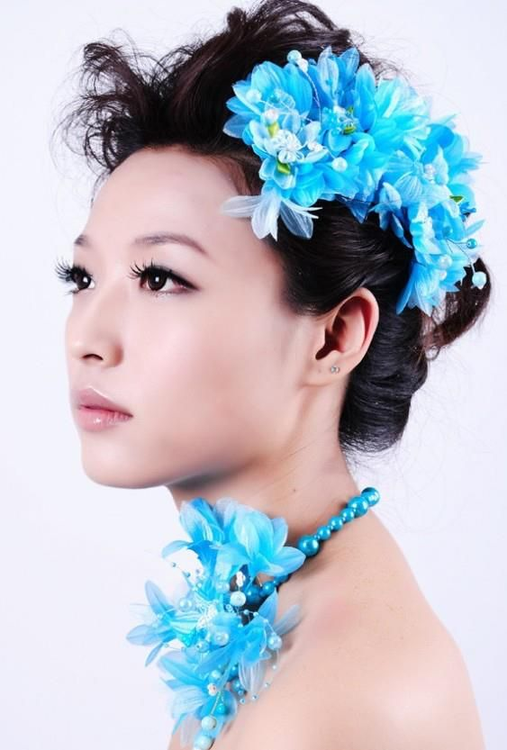 Asian Bridal Hairstyle : 67 best chinese bridal makeup images on pinterest