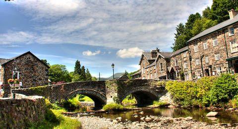 Beddgelert noord Wales ( Snowdonia )