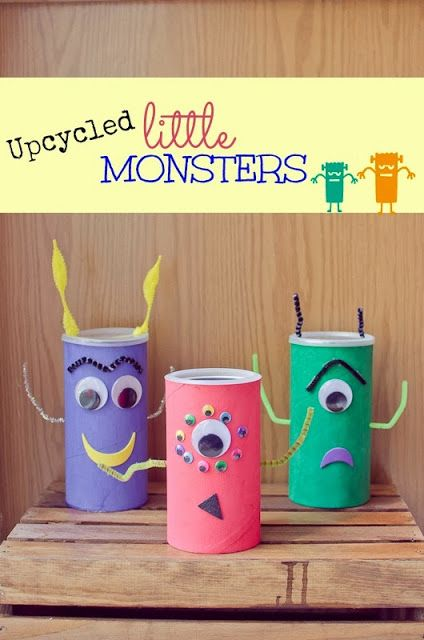 Recycled Little aliens