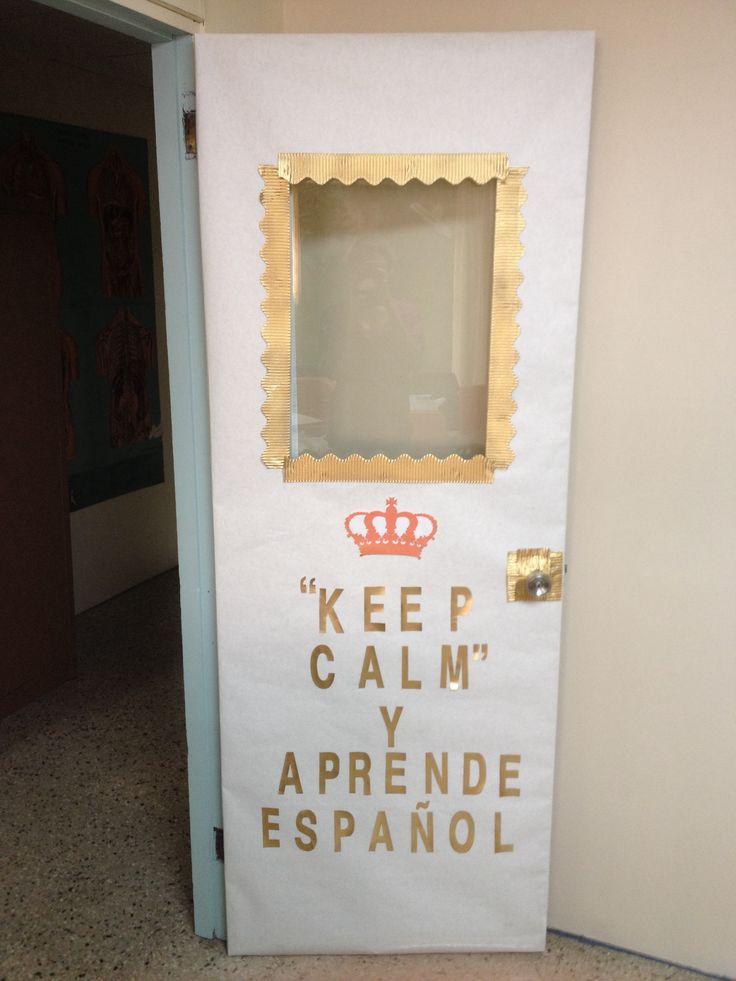 Best 25 spanish classroom door ideas on pinterest for Door in spanish
