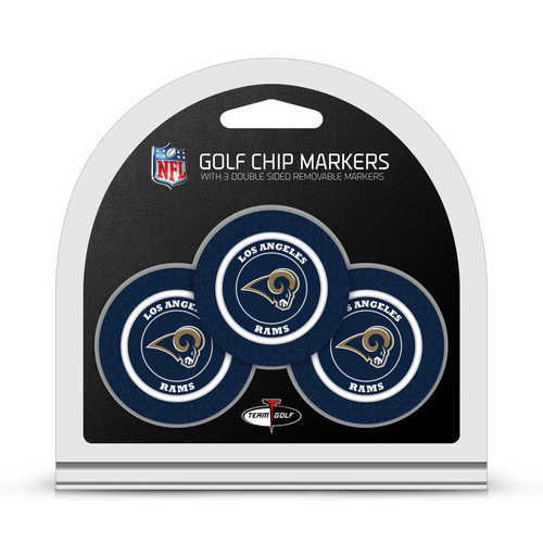 Los Angeles Rams Golf Chip with Marker 3 Pack