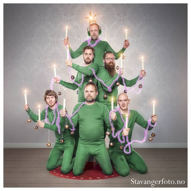 I work at a photography store in Norway. This was our christmas card this year.
