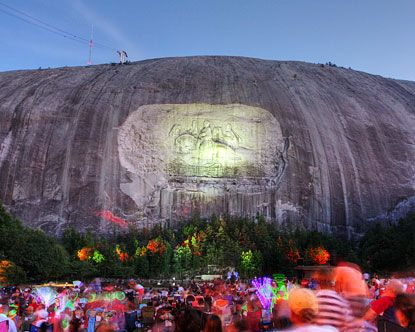 Stone Mountain, Georgia - I needed more U.S.A. places to visit on this list!
