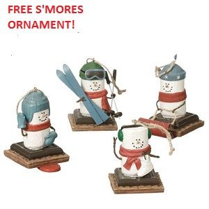 FREE SMORE ORNAMENT of Flying Cloud Gifts choose with a $30 order or more! Expires 10/1/2017