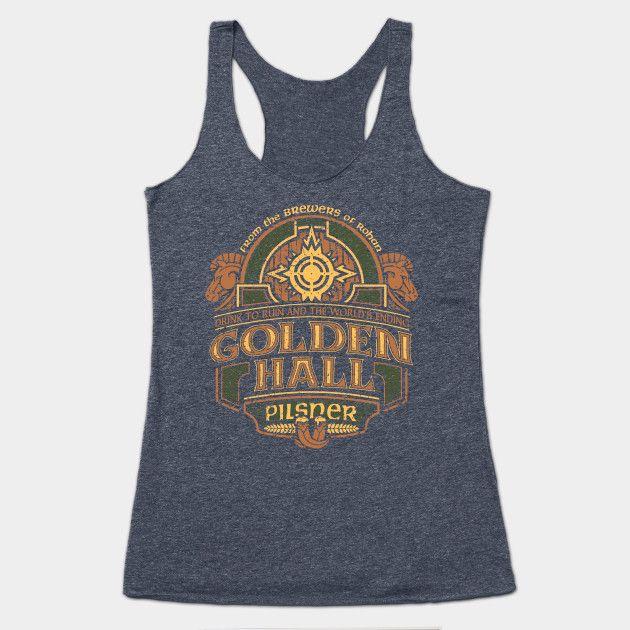 Golden Hall Pilsner by coryfreemandesign