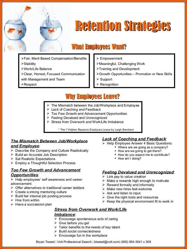 Volt Employee Retention Presentation by btweed via slideshare