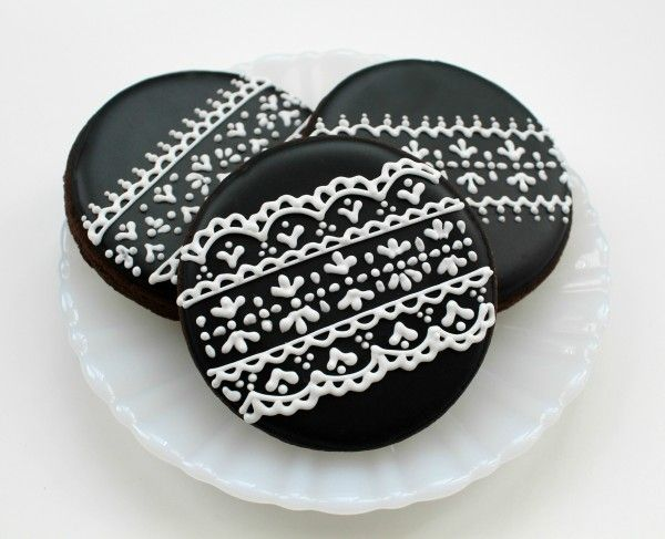 Lace cookies -- apparently these are not as hard as they look. The original poster suggests you dive in and give it a go!