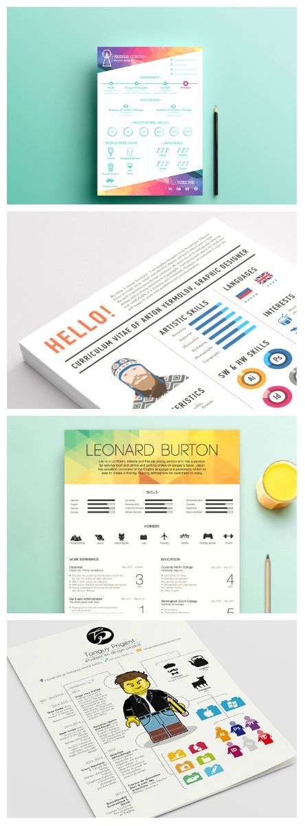 15 Minimalistic Resume Designs for Your Inspiration --> http://blog.kickresume.com/2015/06/04/10-minimalistic-resume-designs-for-your-inspiration/