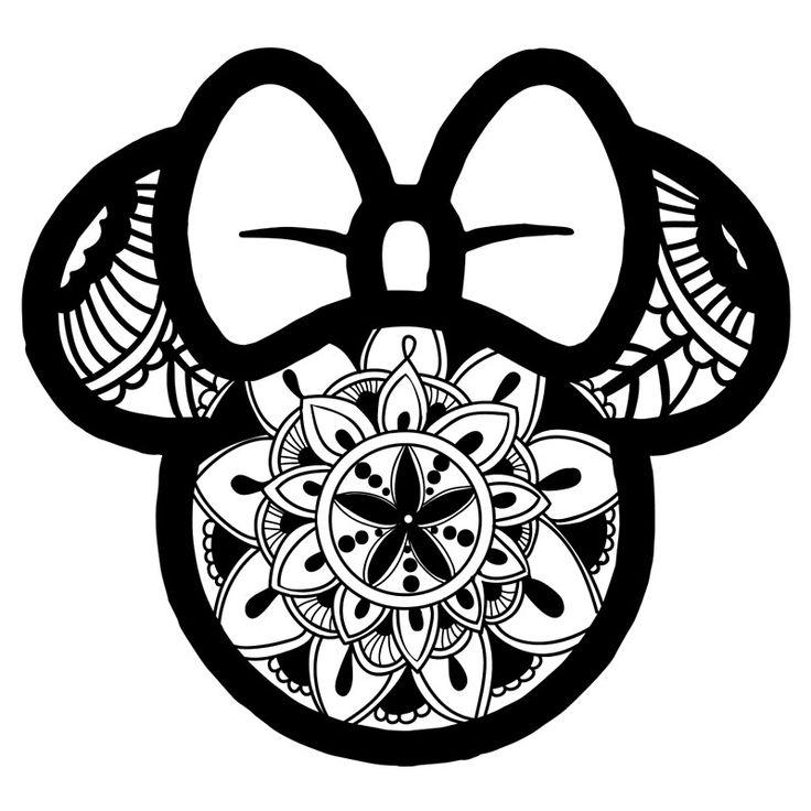 'Minnie Mouse Mandala ' Tote Bag by juicycreations