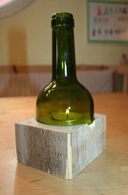 25 einzigartige flaschenlampe ideen auf pinterest lampe flaschen lampe aus flaschen und. Black Bedroom Furniture Sets. Home Design Ideas