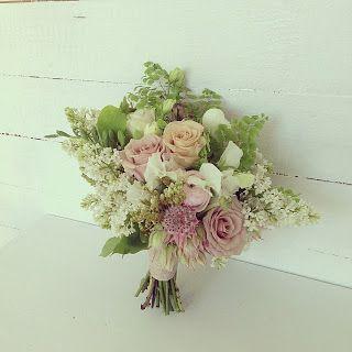 September bridal bouquet by Green & Bloom - Flowers, Props, Styling. Tamborine Mountains Wedding. Garden Bouquet.