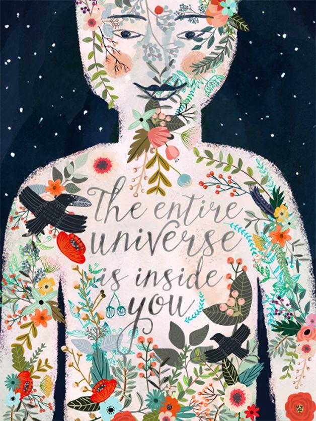 Gorgeous illustration by Mia Charro