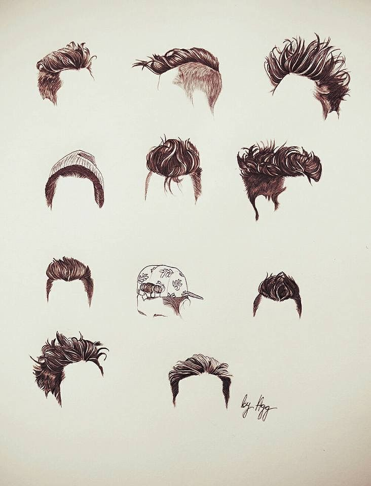 Dan's hair styles - i love all of them ❤️
