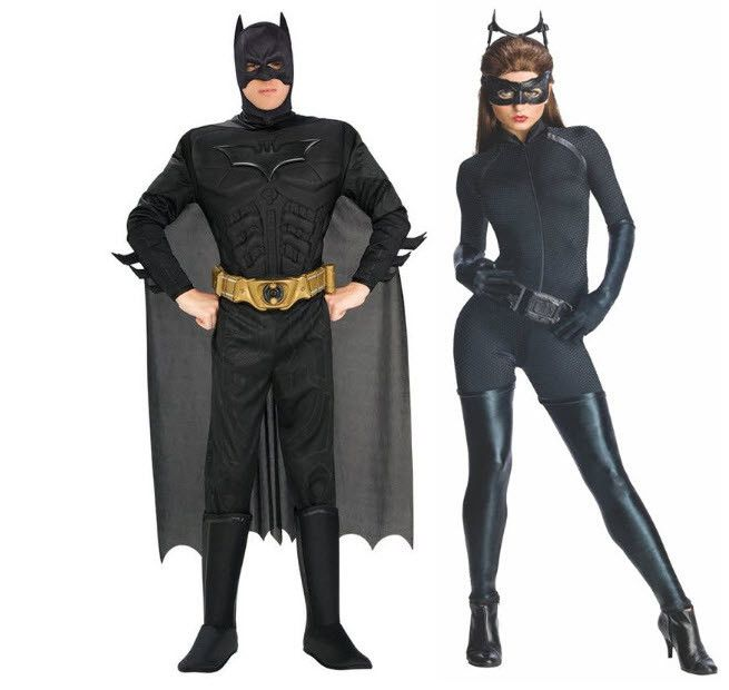 the dark knight rises batman catwoman adult couples costume maskerad pinterest. Black Bedroom Furniture Sets. Home Design Ideas