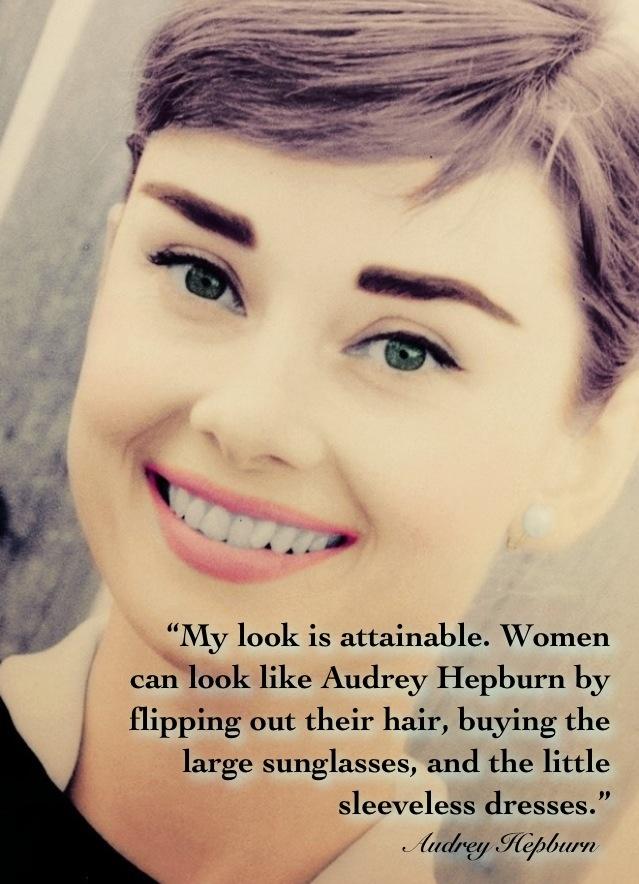 Great Quote Audrey Hepburn Fashion Quotes Pinterest