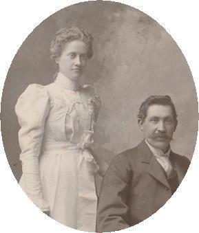 Virgil Earp with daughter Nellie Jane Earp