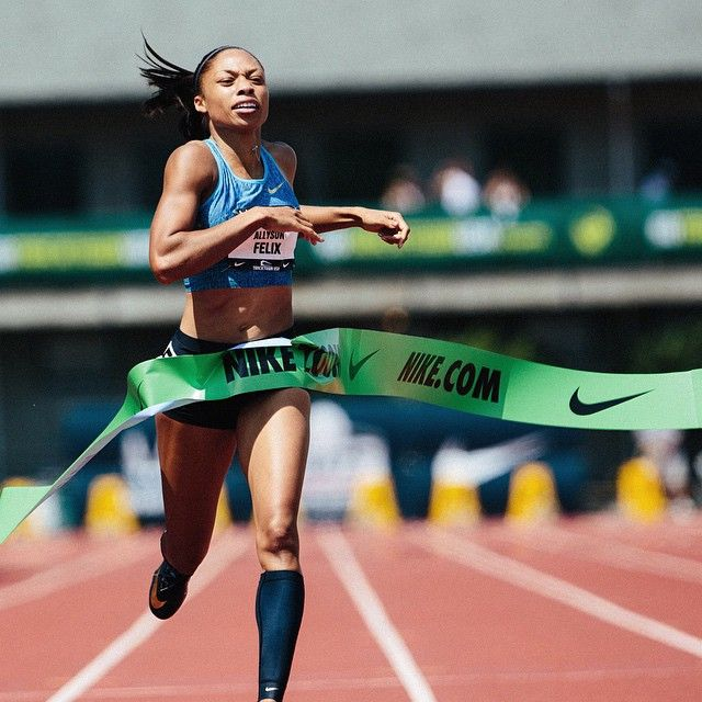 Ten times as fast.  Allyson Felix wins her 10th U.S. Championship with a 50.19 in the 400m. #sofast #USATFoutdoors