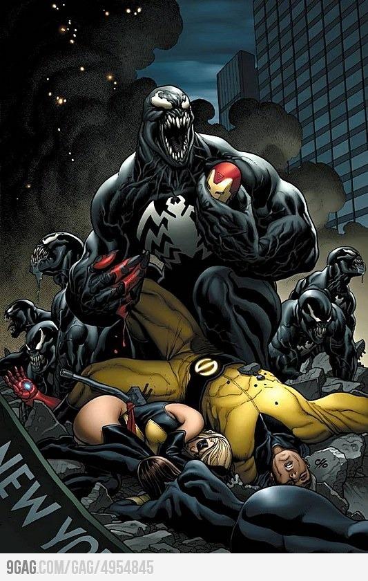 We're f*cked Geek Life! Marvel comics, Comics, Frank cho