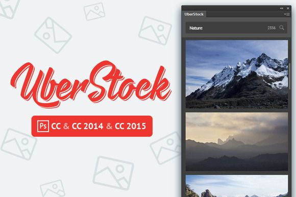 UberStock plugin for Photoshop by UberPlugins on Creative Market