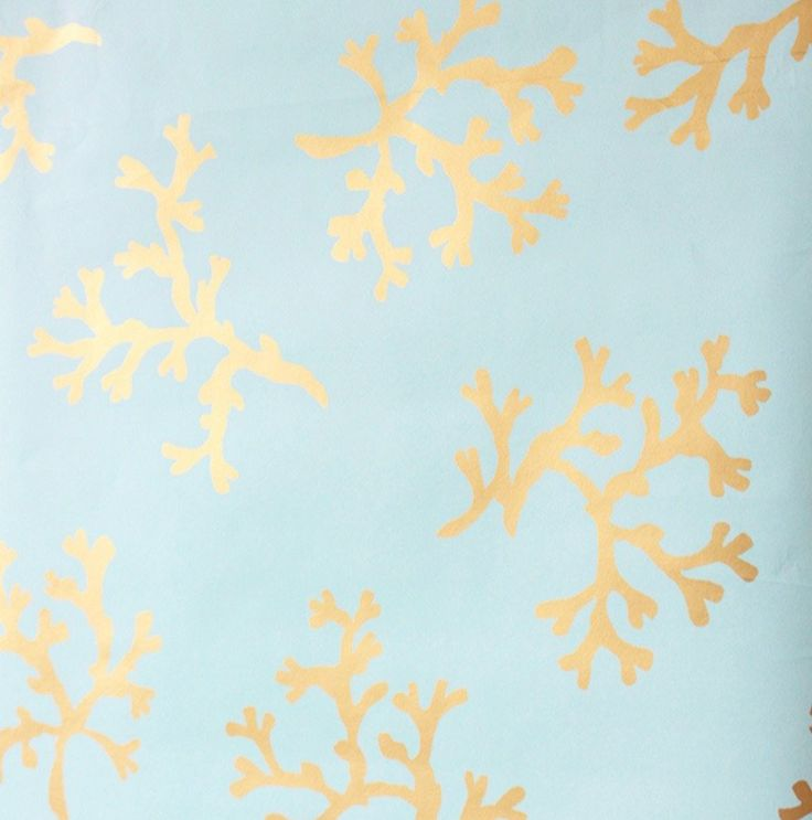 Turquoise Coral Wallpaper