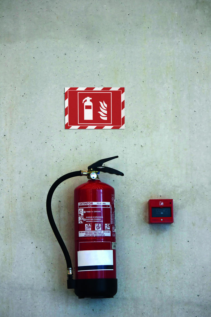 Display health and safety signs in public areas with DURAFRAME Security.