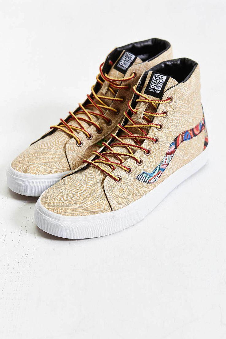 VANS Sk8 Hi Ziegler Reissue #dope #sneakers #pattern