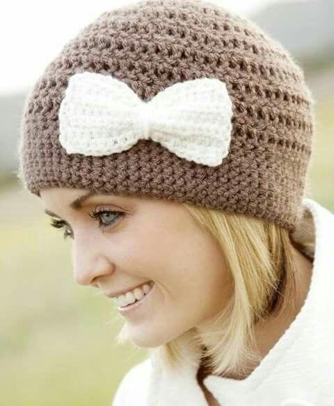 Mejores 273 imágenes de gorros y bufandas en Pinterest   Sombrero de ...