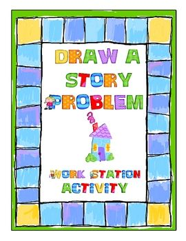 In this activity, students create their own story problems by drawing an operation card, number card, and setting card, and then writing a story pr...Task Cards, Ideas, Problems Solving, Math Center, Work Stations, Math Lessons, Words Problems, Math Stations, Stories Problems