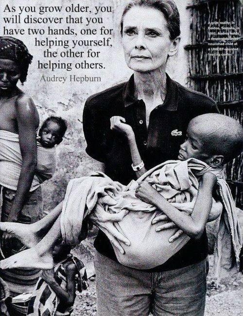 Words of Wisdom from Audrey Hepburn
