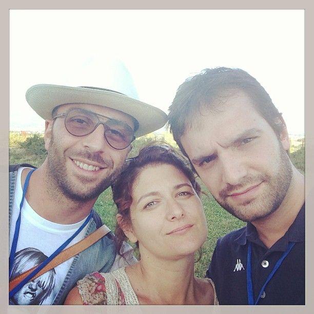 Lo staff a conclusione di #InMontefalco @Luca_preziosi @Valeria Cervantes Saracco  @L a Pausa Caffè  foto di @Valeria Saracco