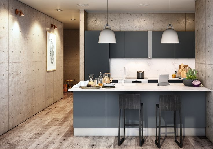 Køkken i model Focus med Sound ID